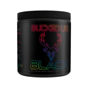 Bucked up Black Rainbow Rush (Peach Strawberry Kiwi)