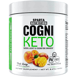 Sparta Nutrition Cogni Keto Peach Mango