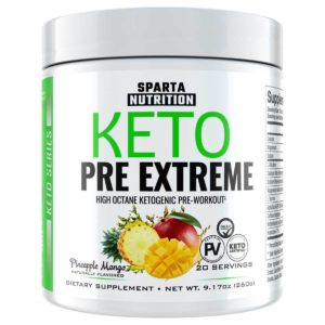Spartan Keto Shred Pre-Extreme Mango Pineapple