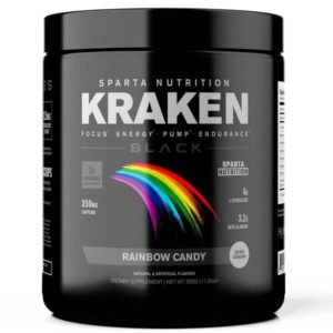 Kraken Black, Black Rainbow Candy Pre-Workout